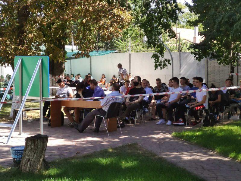 Николаевский вуз начинает учебный год по мировой модели «Оpen air» (ФОТО)