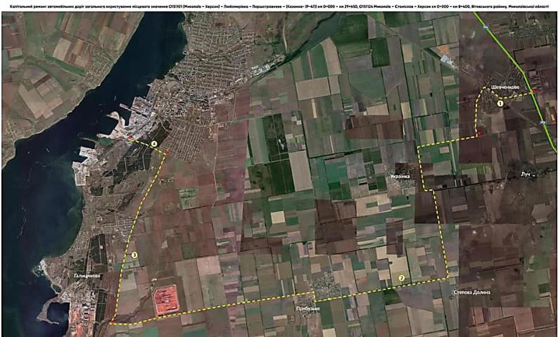 Николаевская ОГА не использовала  госсубвенцию на окружную дорогу к терминалам Корабельного района, которую просили у Зеленского