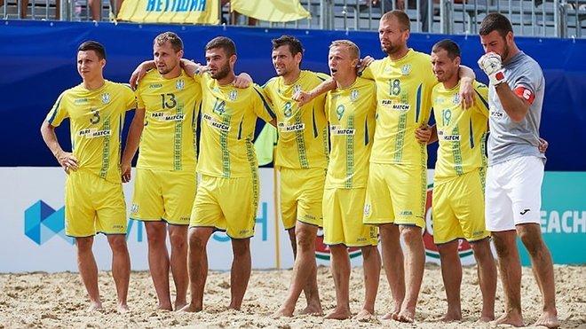 Сборная Украины по пляжному футболу завоевала бронзу в Суперфинале Евролиги