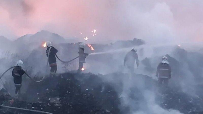 Под Полтавой горит мусорная свалка, город накрыл смог (ФОТО, ВИДЕО)