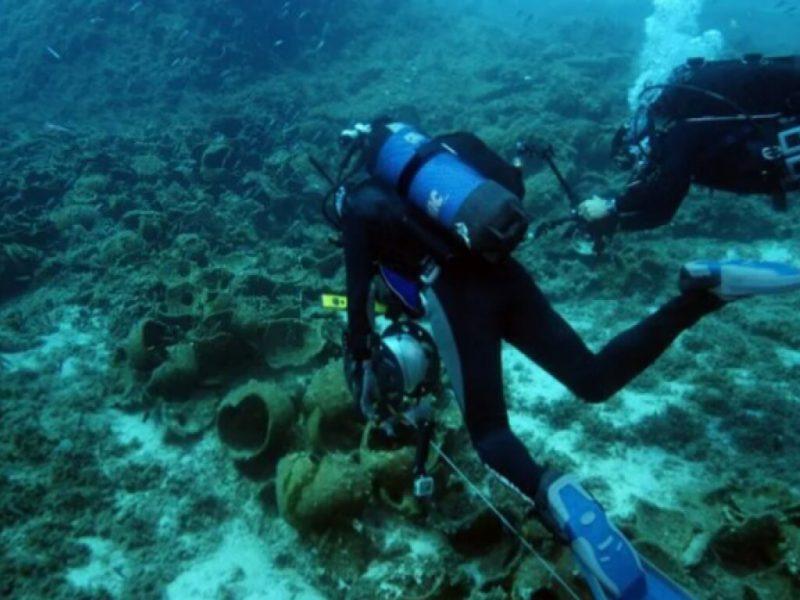 У греческого острова археологи обнаружили кладбище древних кораблей