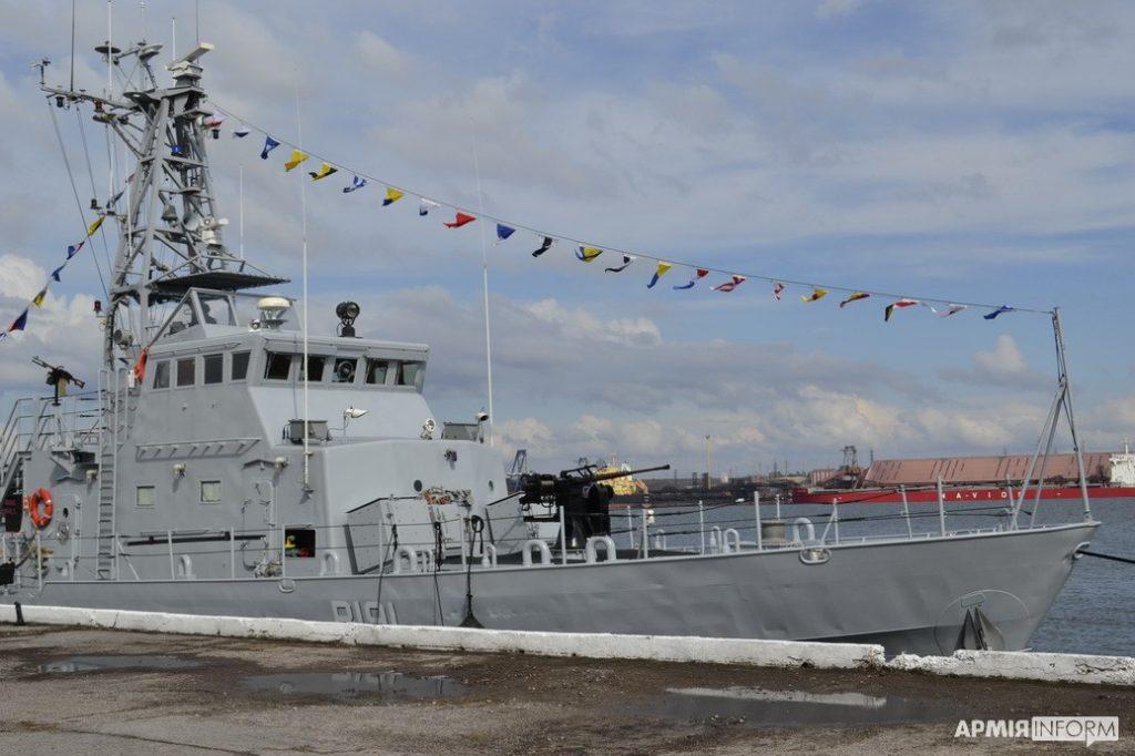 В порту Южный торжественно открыли причал, где будут базироваться патрульные катера типа «Айленд» (ФОТО) 1