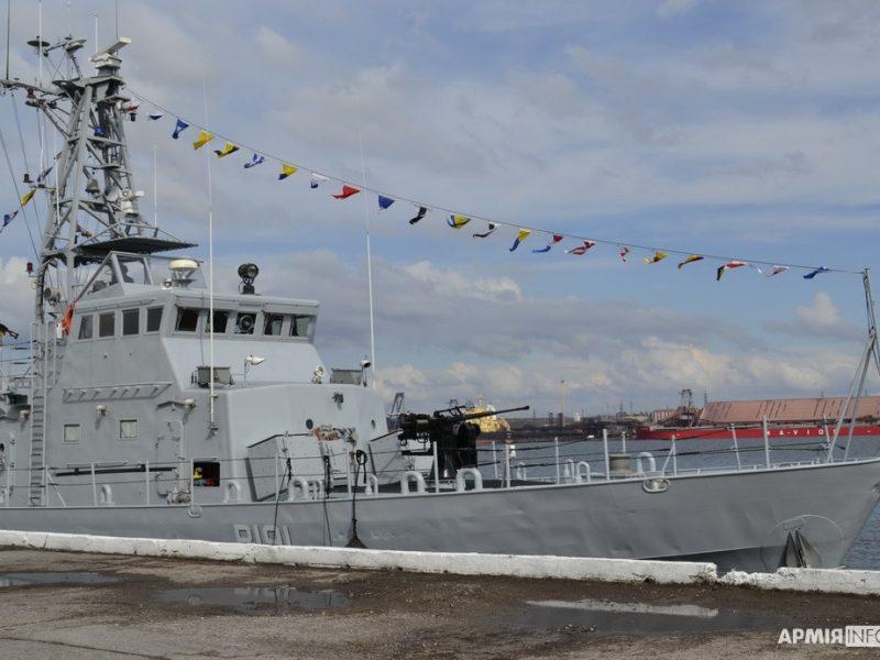В порту Южный торжественно открыли причал, где будут базироваться патрульные катера типа «Айленд» (ФОТО)