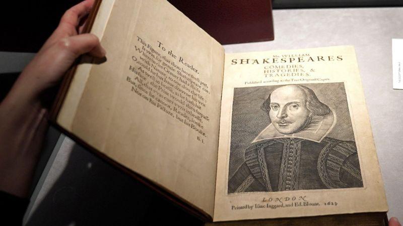 Рекорд для Шекспира: копию его первого сборника продали почти за $10 млн. (ФОТО)