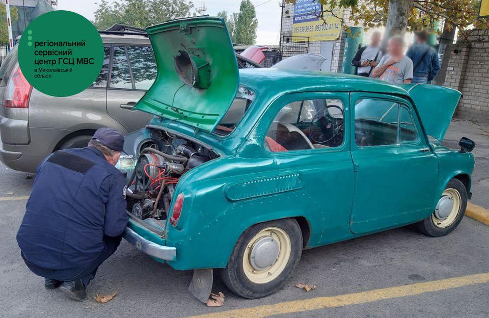 Старичок-бодрячок: на Николаевщине 59-летний «Запорожец» получил нового владельца и шанс на новый лук (ФОТО) 1