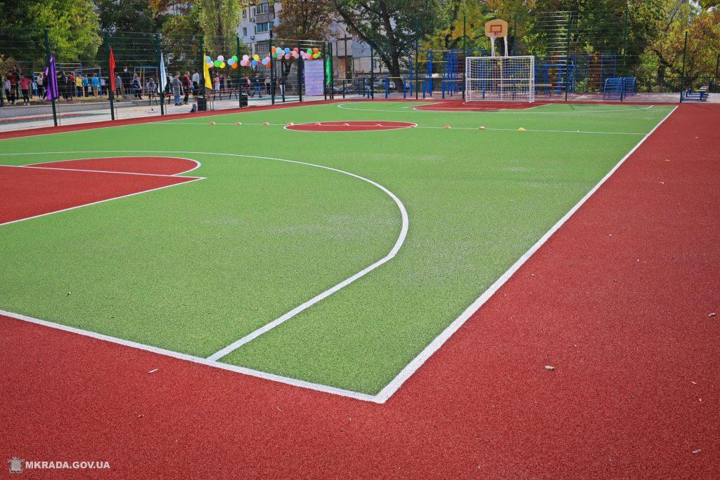 В николаевской школе №53 открыли сразу 4 реконструированных спортивных объекта (ФОТО) 1