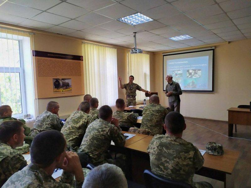 На базе Учебного центра ВМС в Николаеве проходят украинско-британские учения «Warrior Watcher-2020»