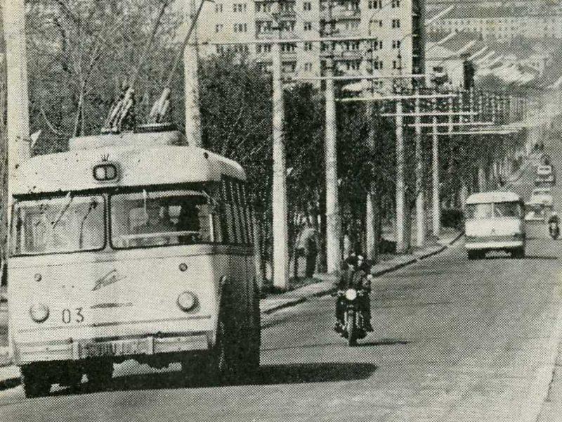 Пусть и не круглая дата: николаевскому троллейбусу – 53 года. Немного истории и фото