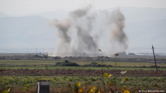 Азербайджан передал Армении тела 29 военных, погибших в Карабахе
