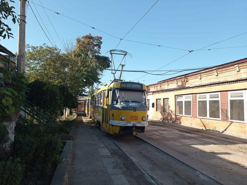 В Николаеве днем временно изменятся два трамвайных маршрута