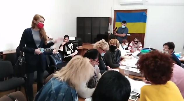 Нашлась глава Николаевского горизбиркома Татьяна Павлова (ВИДЕО)