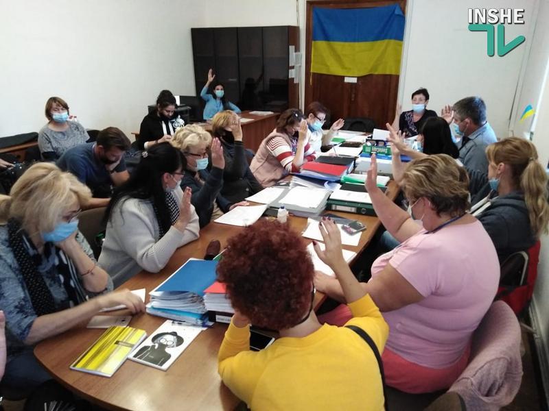 Николаевский горизбирком утвердил территориальные избирательные списки уже зарегистрированных кандидатов в депутаты Николаевского горсовета