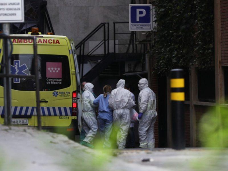 Правительство Испании ввело чрезвычайное положение в Мадриде