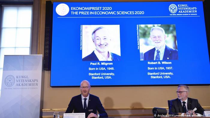 Нобелевскую премию по экономике присудили за совершенствование теории аукционов