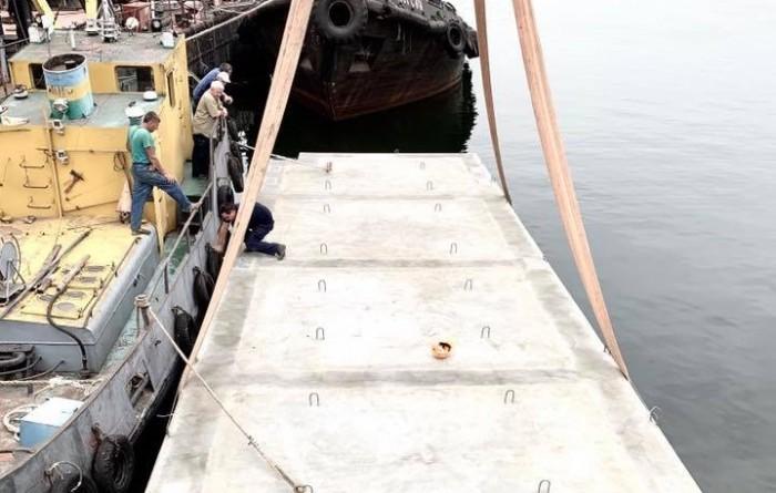Херсонский завод построит плавучий причал для ВМС Украины