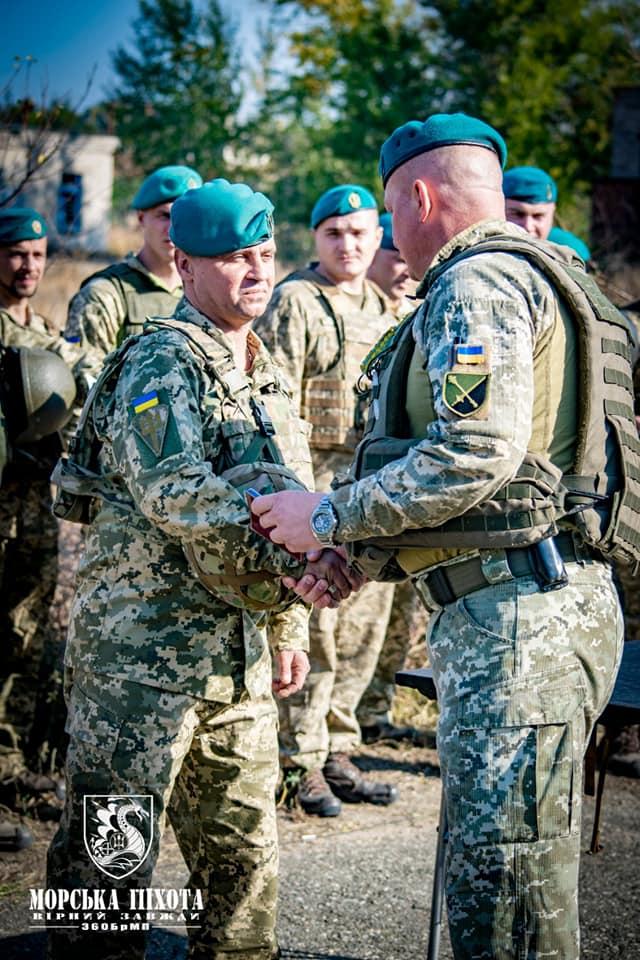 Николаевские морпехи давали Клятву морского пехотинца в Широкино (ФОТО) 21