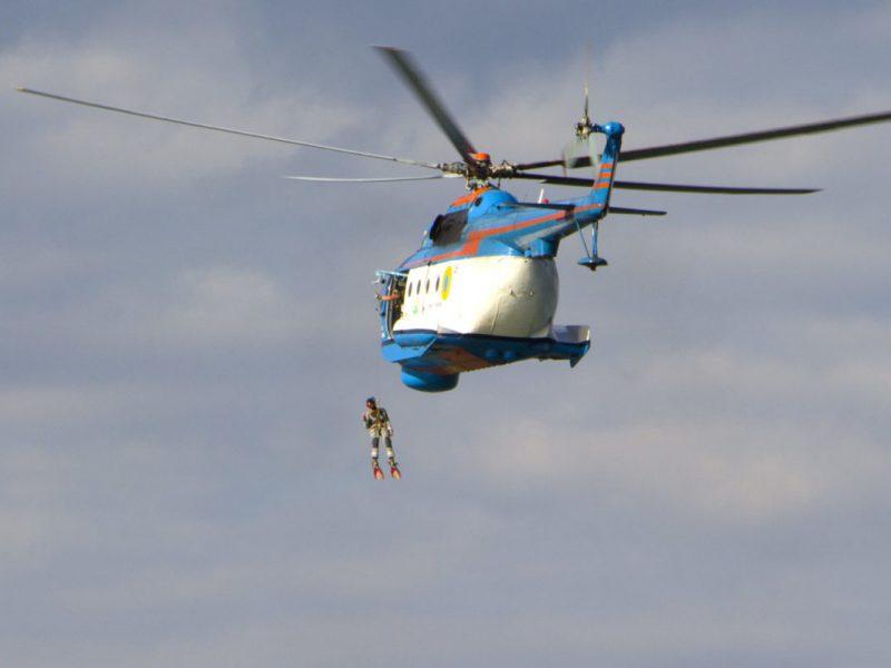 В Николаеве морские авиаторы продемонстрировали британским коллегам свои возможности как над морем, так и в горной местности (ФОТО, ВИДЕО)