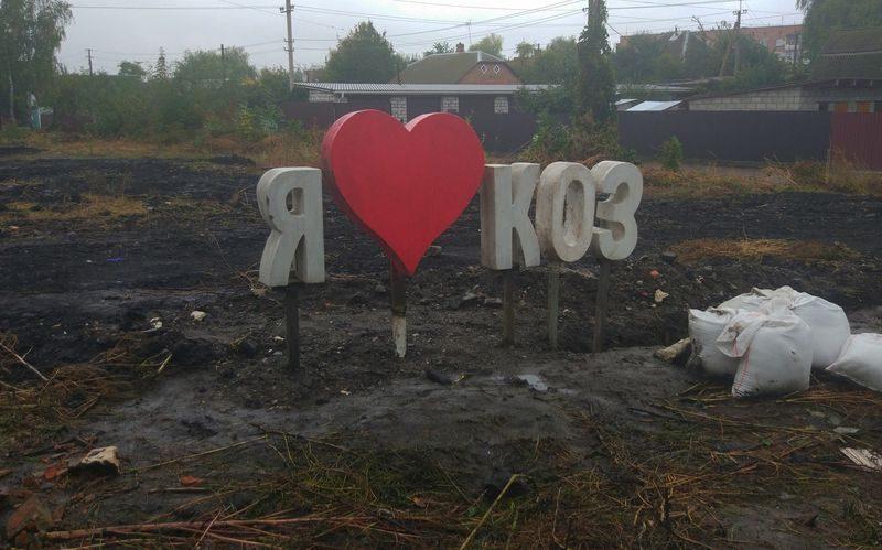 «Я люблю коз»: на улице в Винницкой области появился странный знак