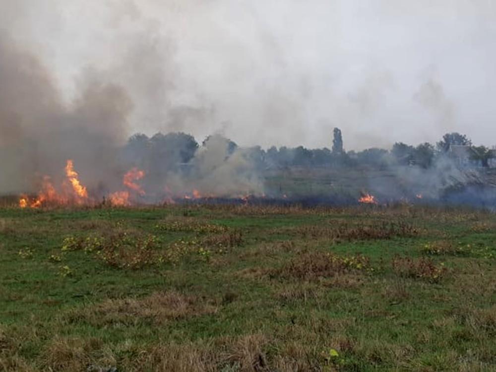 На Николаевщине двое человек получили ожоги при пожаре в Первомайске (ФОТО) 7