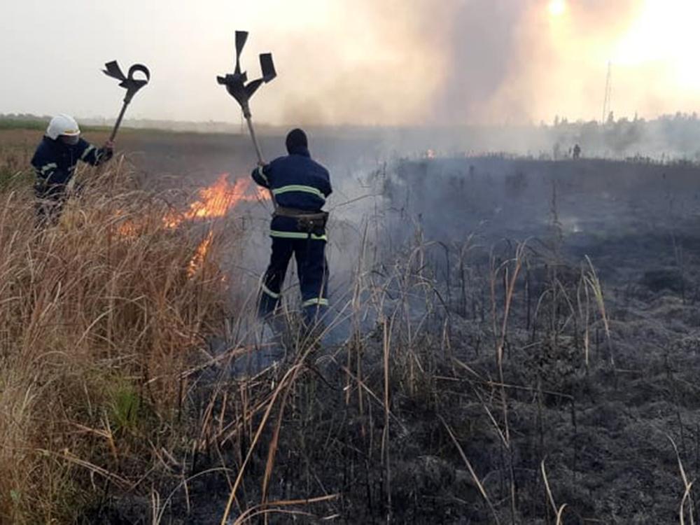 На Николаевщине двое человек получили ожоги при пожаре в Первомайске (ФОТО) 9