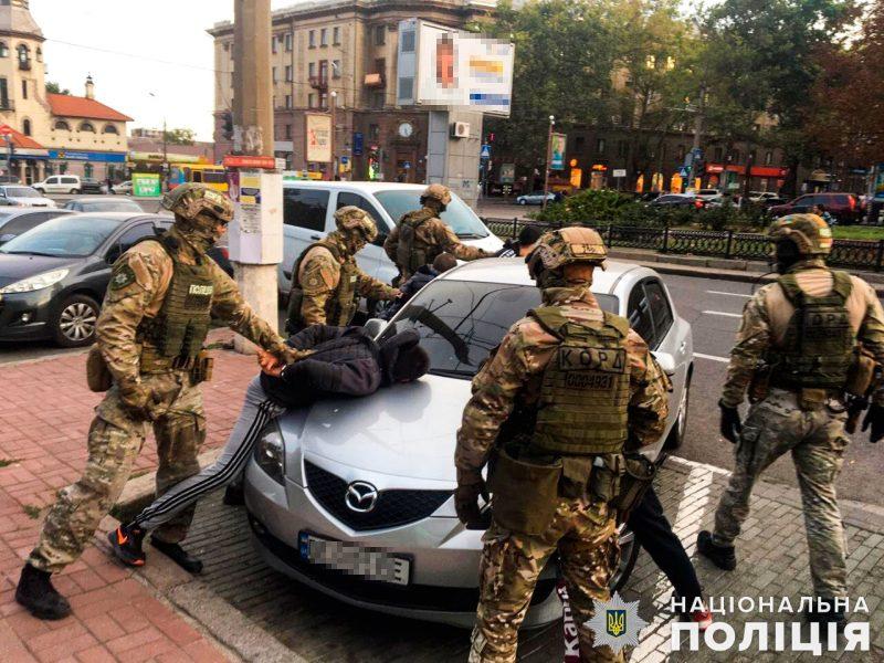В Николаеве задержали группу вымогателей (ФОТО)
