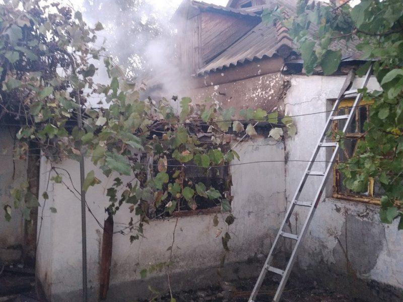 На Николаевщине в огне погиб неосторожный курильщик