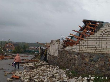 В Кропивницком бушевала буря, есть пострадавшие (ФОТО, ВИДЕО)
