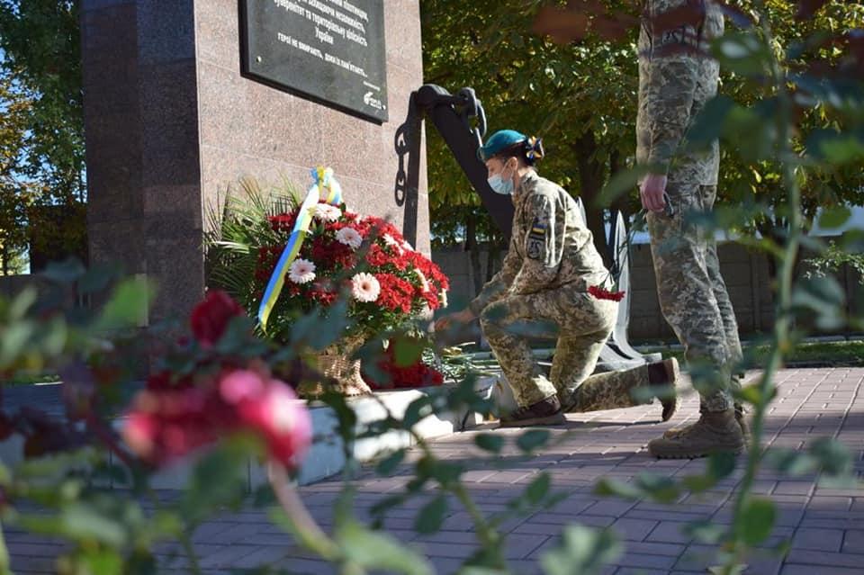 Николаевские морпехи давали Клятву морского пехотинца в Широкино (ФОТО) 27