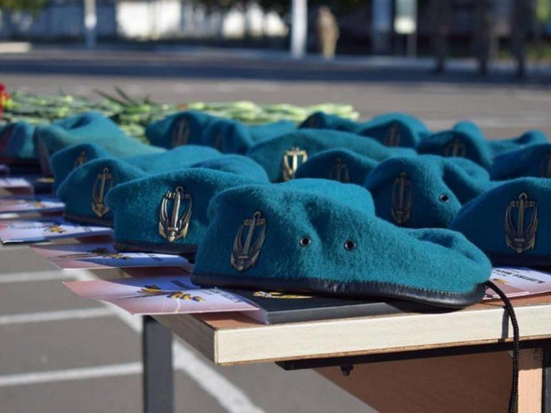 Николаевские морпехи давали Клятву морского пехотинца в Широкино (ФОТО)