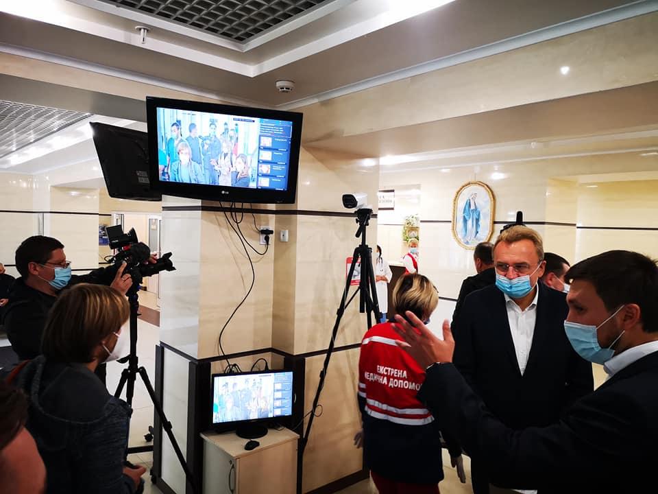 Во Львове впервые в Украине протестируют систему массового скрининга температуры (ФОТО) 1