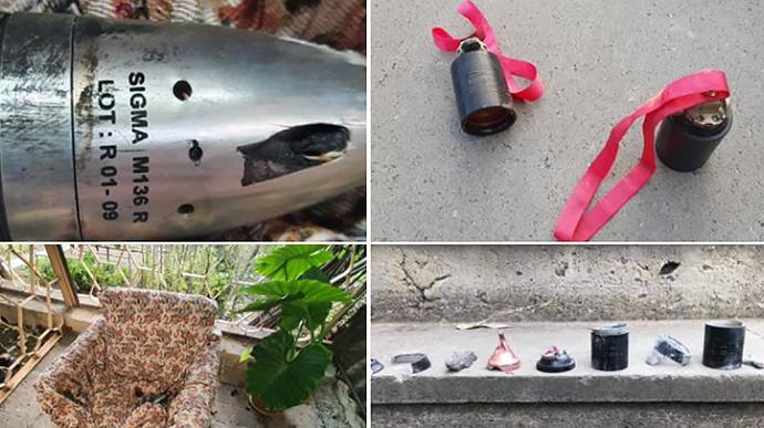 Армяне опубликовали доказательства обстрела жилых районов кассетными бомбами (ВИДЕО)