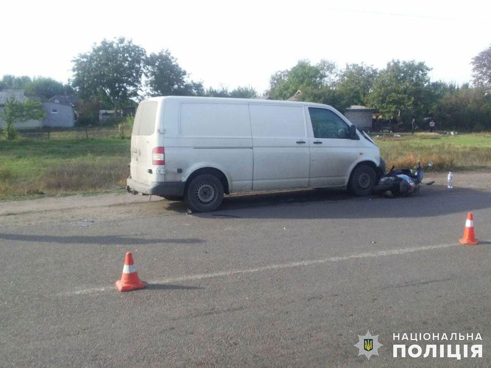 В ДТП в пгт Кривое Озеро пострадали подростки, ехавшие на мопеде (ФОТО) 3