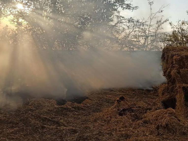 Хозпостройка, сено и 3 пожара на открытых территориях: что тушили в Николаевской области за сутки (ФОТО) 3