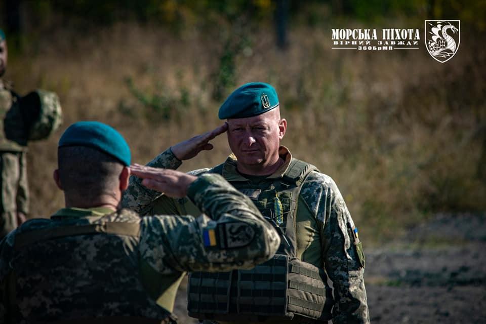 Николаевские морпехи давали Клятву морского пехотинца в Широкино (ФОТО) 3