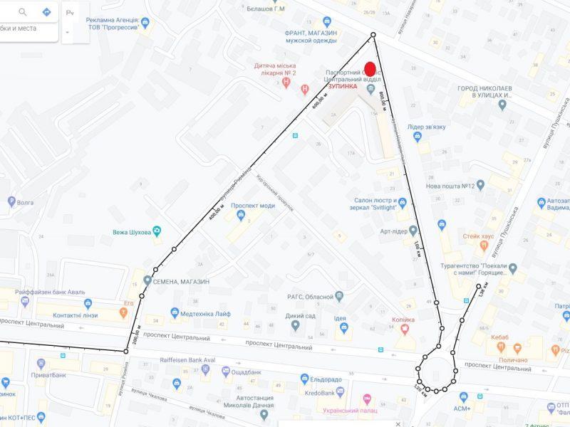 В Николаеве частично изменили маршрут №62 – теперь будет легче добраться до горбольницы №4 (СХЕМЫ)