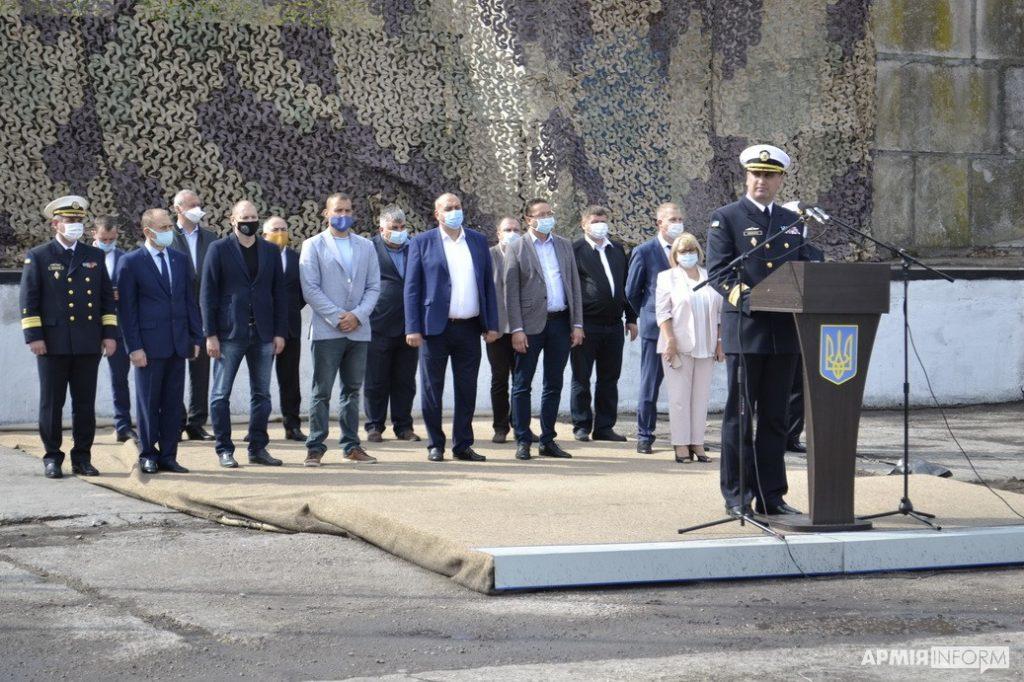 В порту Южный торжественно открыли причал, где будут базироваться патрульные катера типа «Айленд» (ФОТО) 3