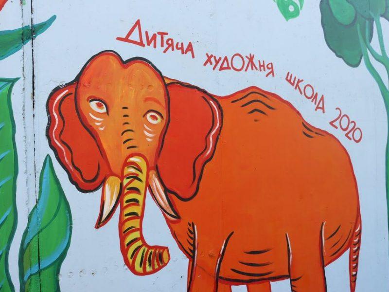 «До світлих мрій через джунглі подій»: в Николаевском зоопарке открыли новый арт-объект (ФОТО)