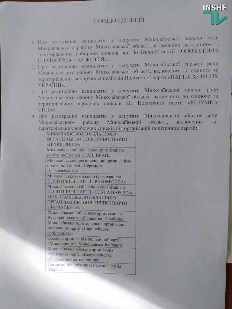 Члены Николаевского горизбиркома приняли решение вскрывать кабинеты, к которым не подходят выданные на вахте ключи (ФОТО, ВИДЕО) 3