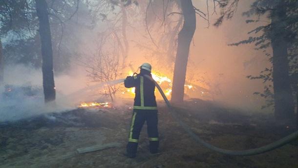 Площадь пожара на Луганщине превысила 13 тыс. гектаров, 32 населенных пункта под угрозой, – ГСЧС