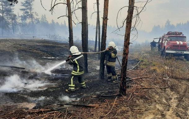 На Луганщине ликвидировали один из очагов пожаров