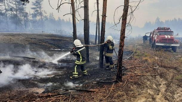 Пожары на Луганщине: потушены два очага (ФОТО, ВИДЕО)