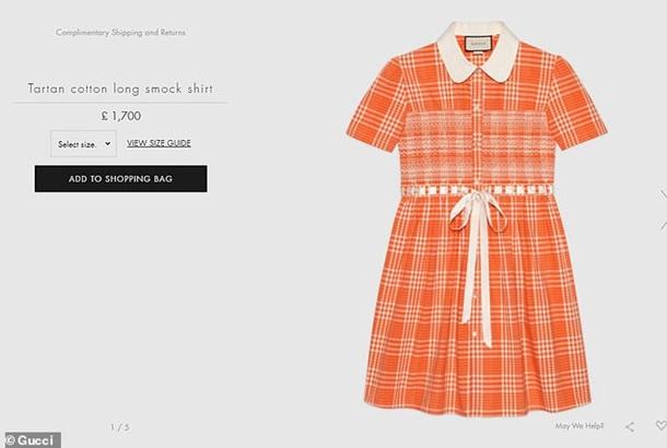 Gucci выпустил платье для мужчин (ФОТО) 5