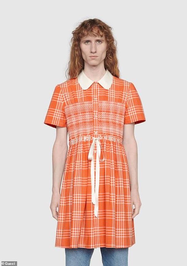 Gucci выпустил платье для мужчин (ФОТО) 3