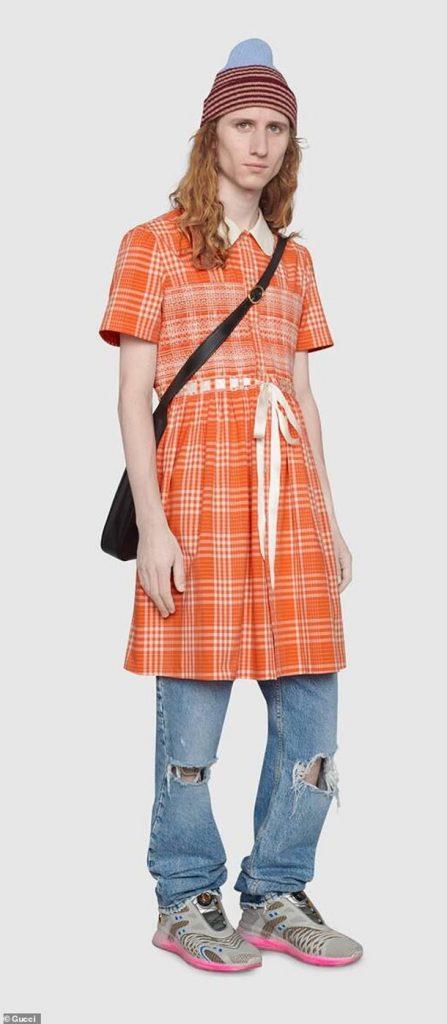 Gucci выпустил платье для мужчин (ФОТО) 1