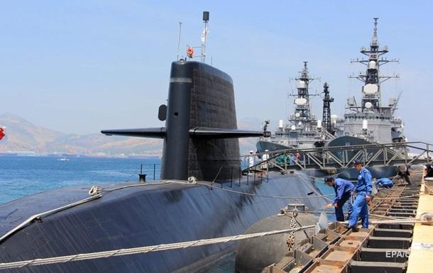 В Японии спустили на воду новую ударную подлодку