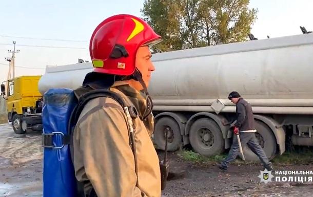 В Черкассах выявили масштабное загрязнение грунта (ВИДЕО)