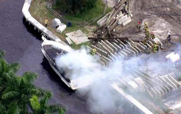 Во Флориде 13 человек пострадали от взрывов на борту катера