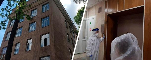 Пациент с COVID-19 выпал из окна больницы в Харькове