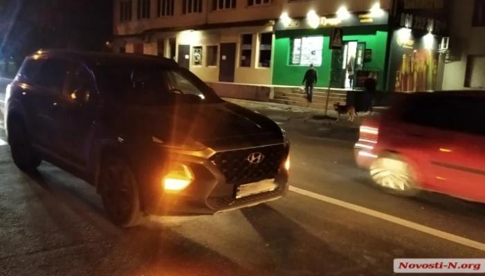 В Николаеве на пешеходном переходе «Хюндай» сбил мужчину