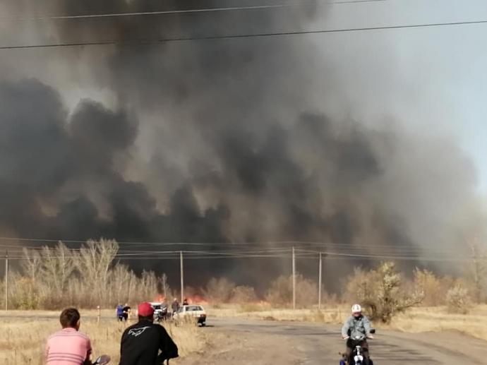 На Луганщине очередной поджог: детонируют снаряды, огонь подступает к электроподстанциям (ФОТО) 5